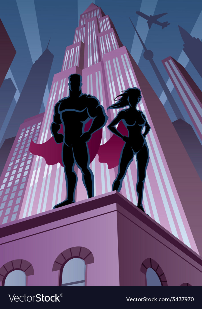 Superhero Couple 5