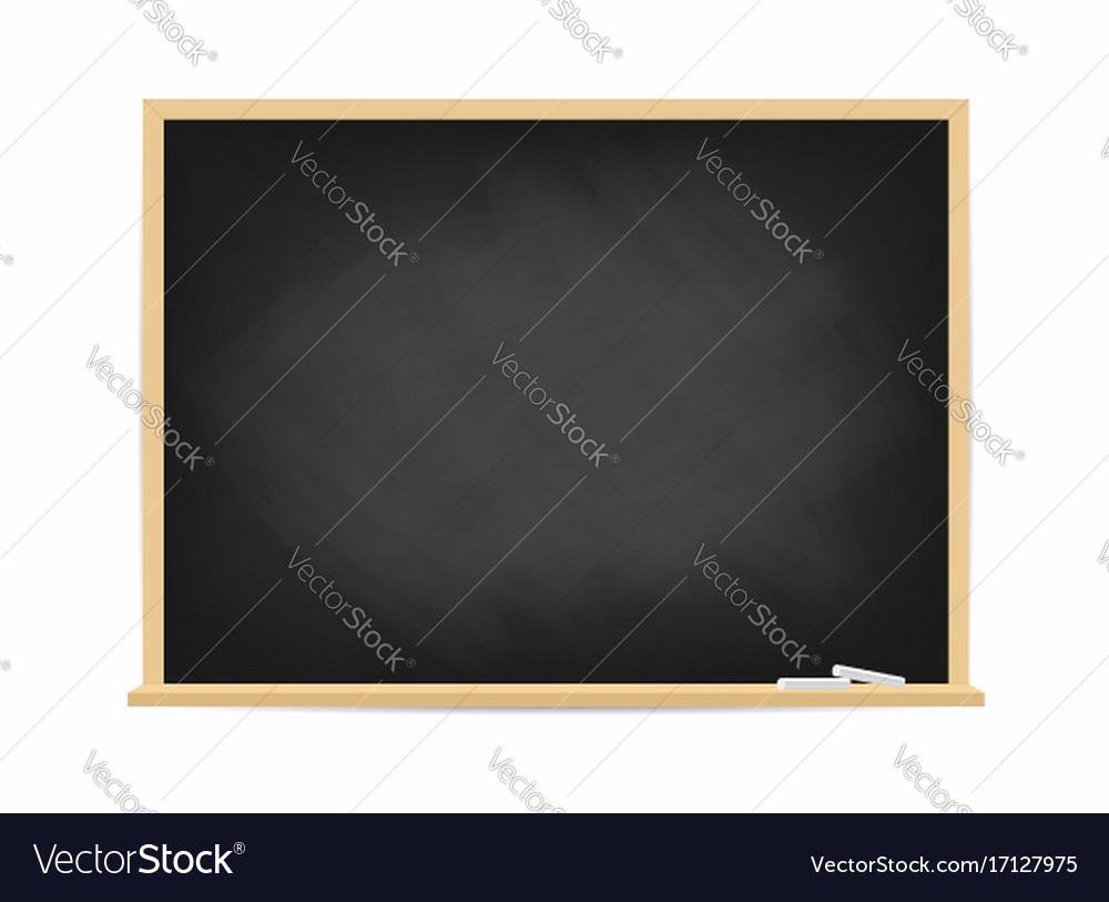 School blackboard dirty black chalkboard with