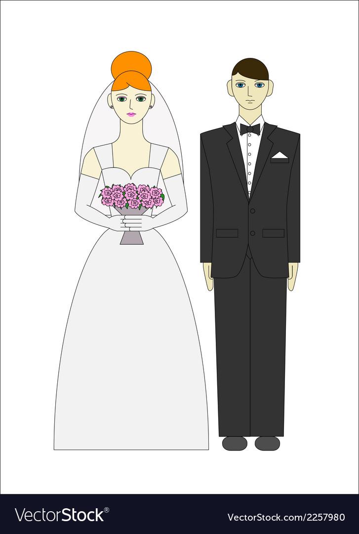 Bride ang groom Wedding couple