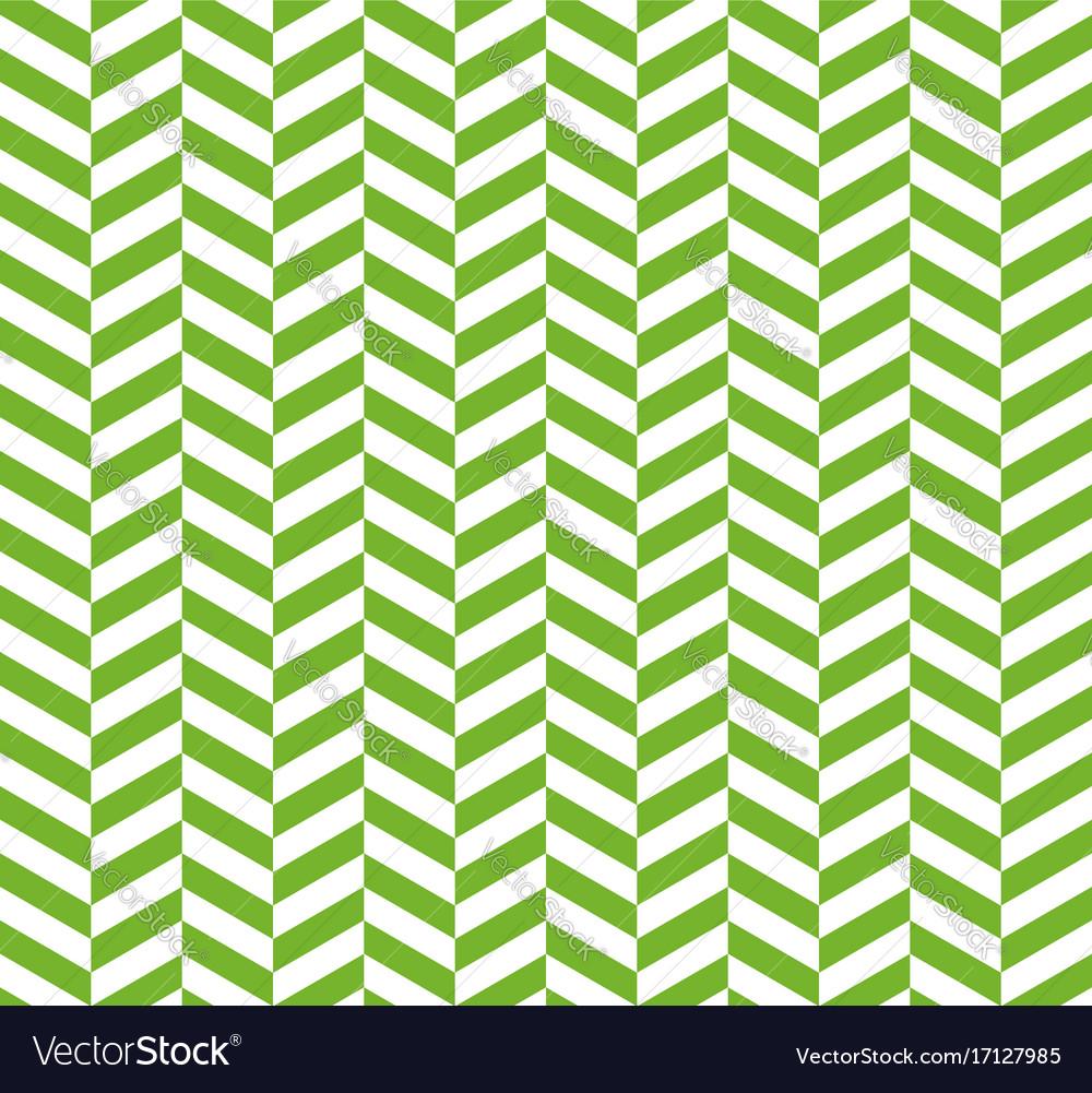 Seamless green herringbone pattern backdrop for vector image