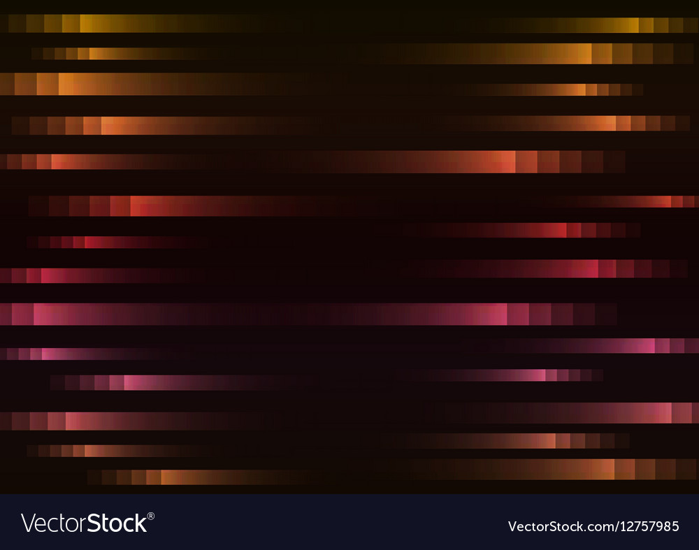 Warm color of abstract pixel speed background