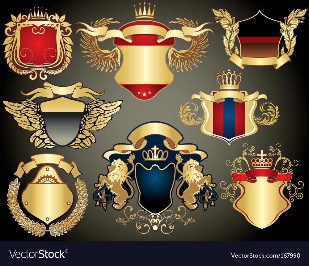 Gold heraldry