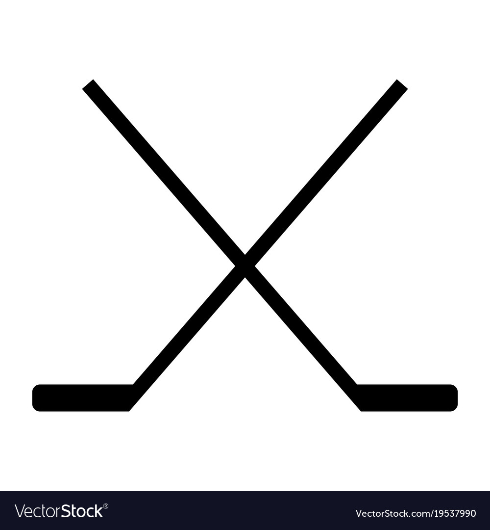 hockey stick icon royalty free vector image vectorstock rh vectorstock com ccm vector hockey stick price ccm vector hockey stick price
