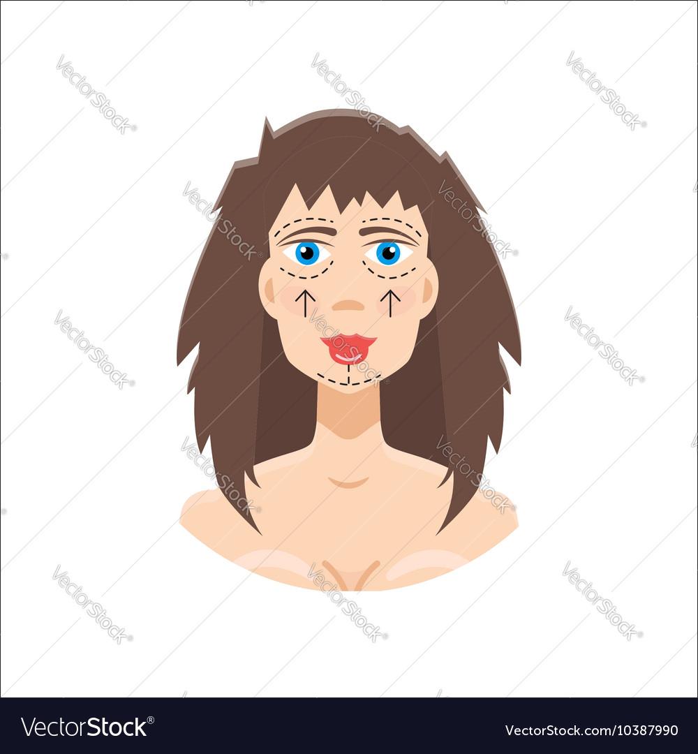 Plastic surgery icon