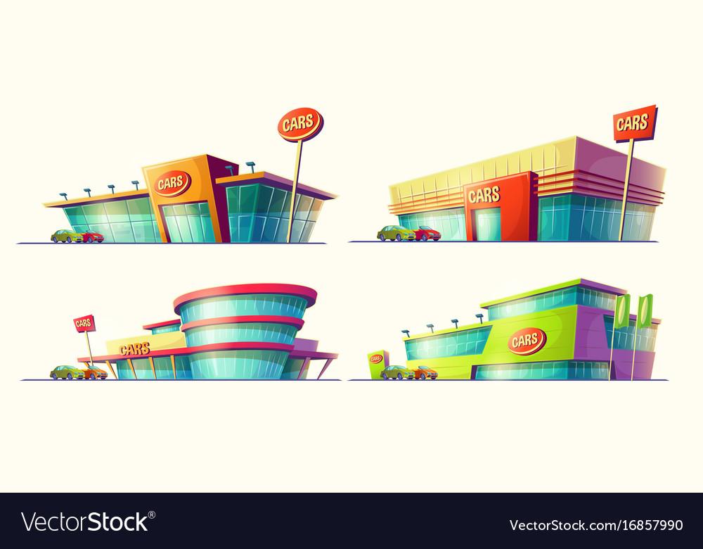 Set of cartoon various vector image