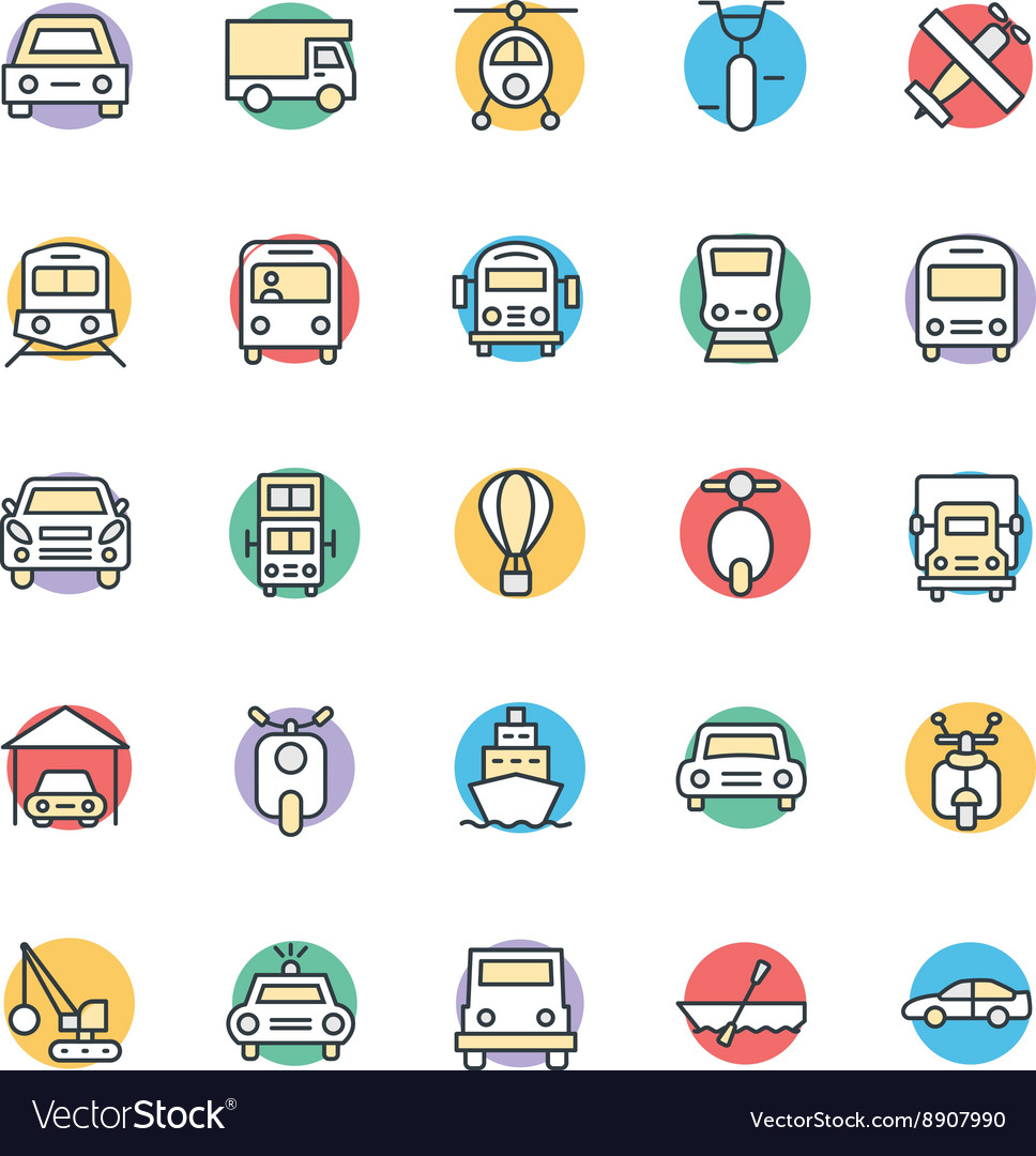 Transport Cool Icons 3