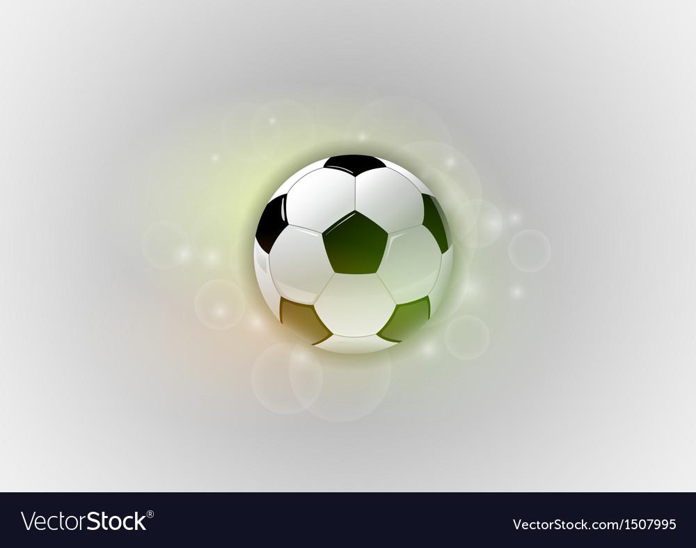 Football abstract ball