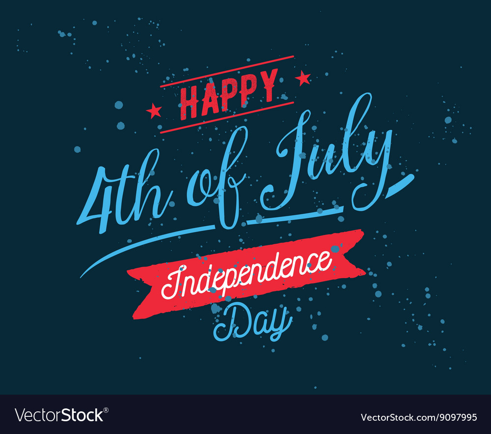 July fourth United Stated independence day