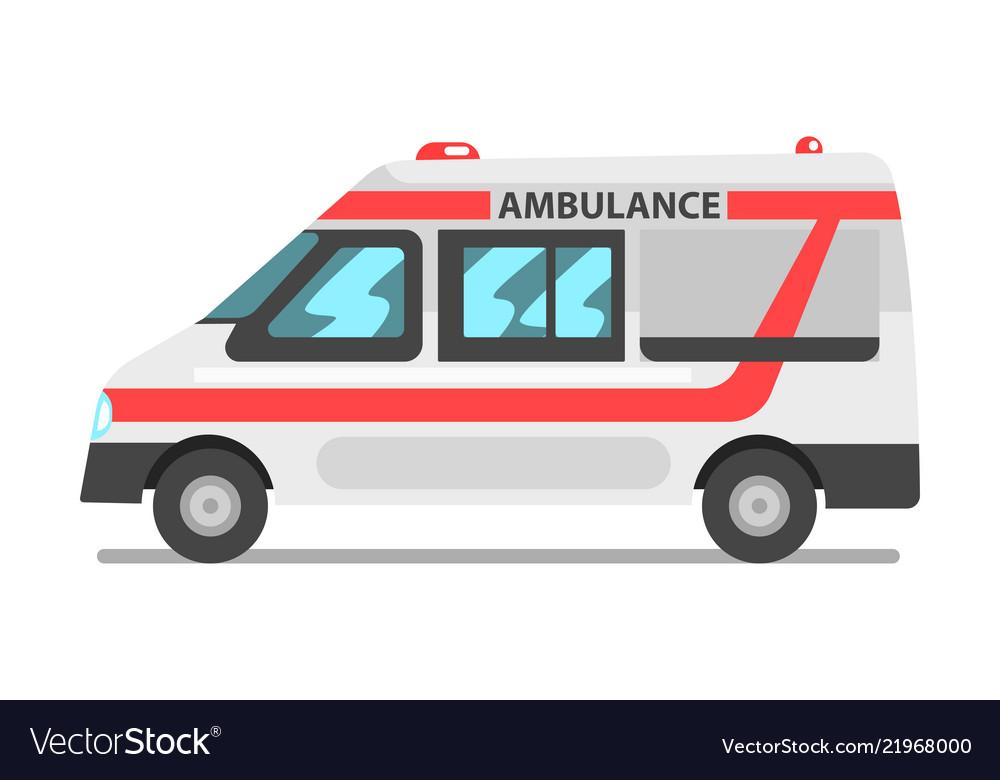 Ambulance service car emergency medical service