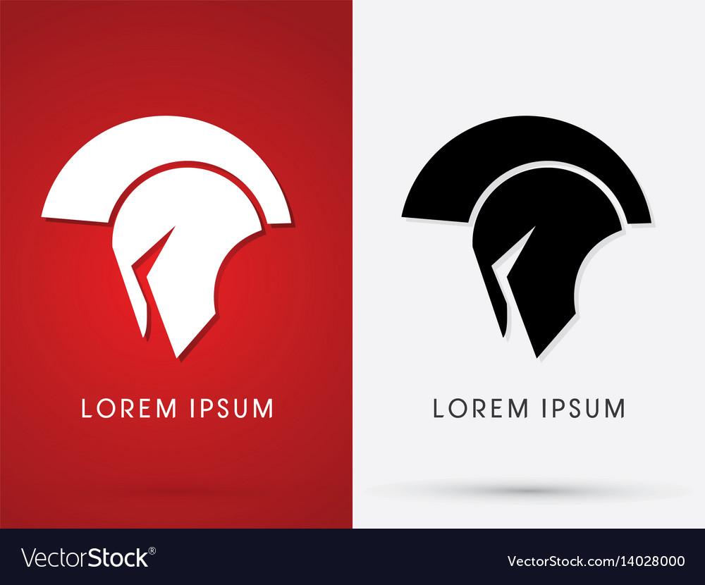 Roman or greek helmet spartan