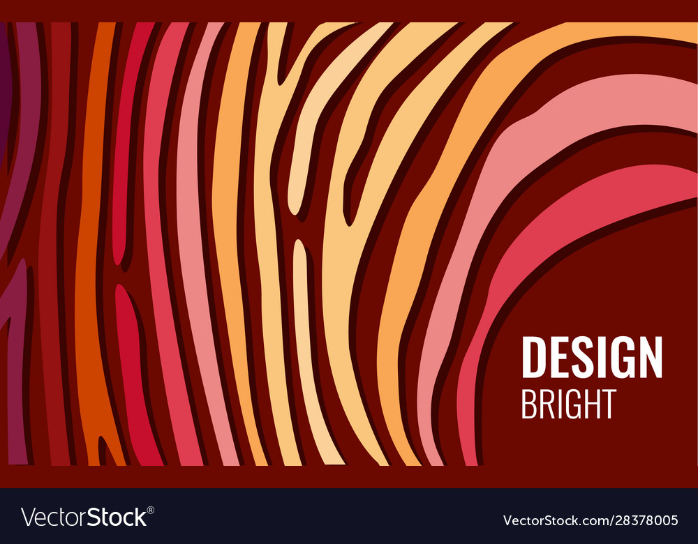 Bright red horizontal abstract background color