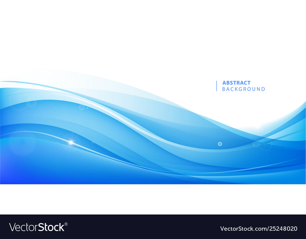 Abstract blue wavy background graphic