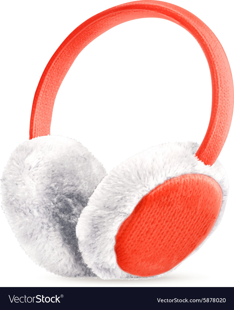 Earmuffs icon vector image