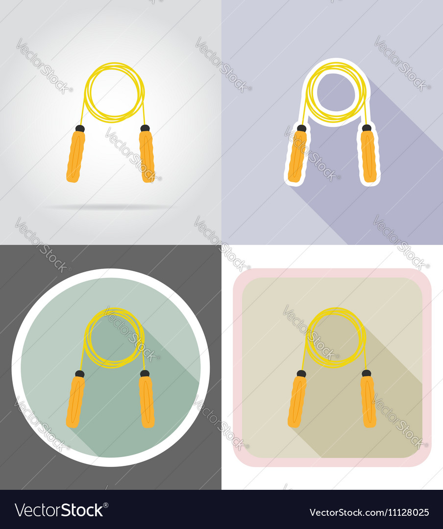 Fitness flat icons 03