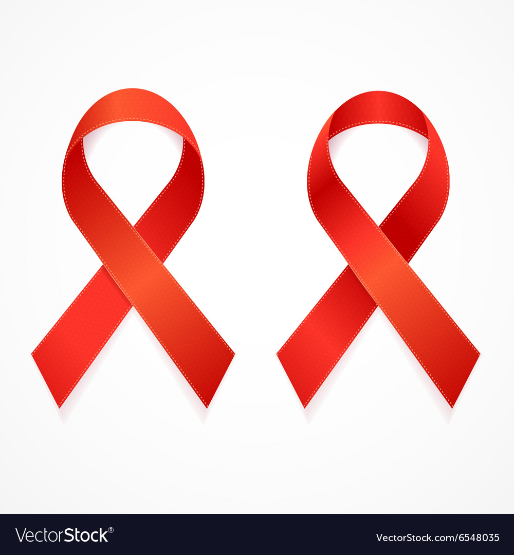 AIDS Ribbon Set