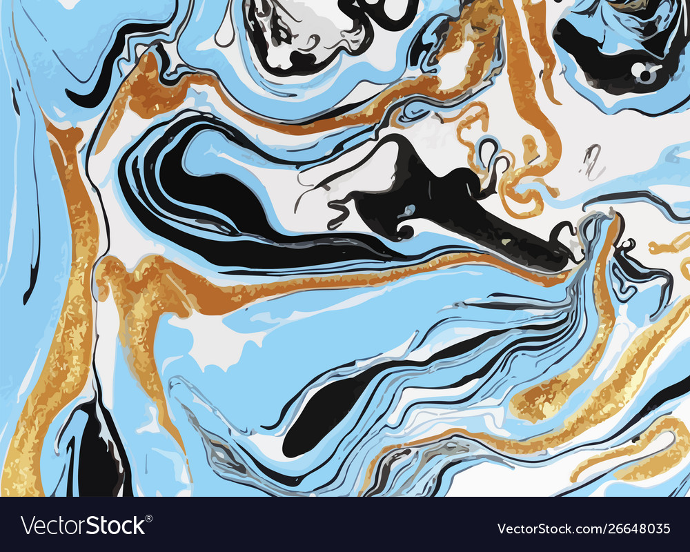 Multicolor marbled paper