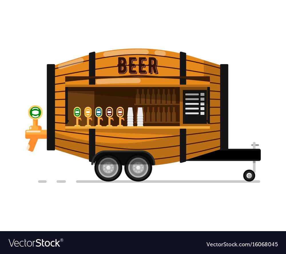 Beer pub outdoor service icon