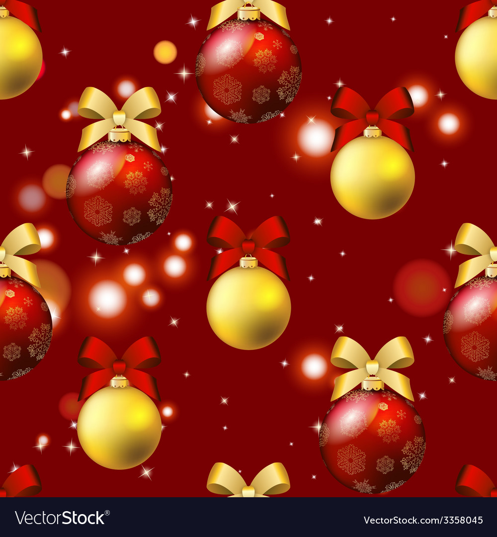 new year pattern with ball christmas wallpaper vector 3358045