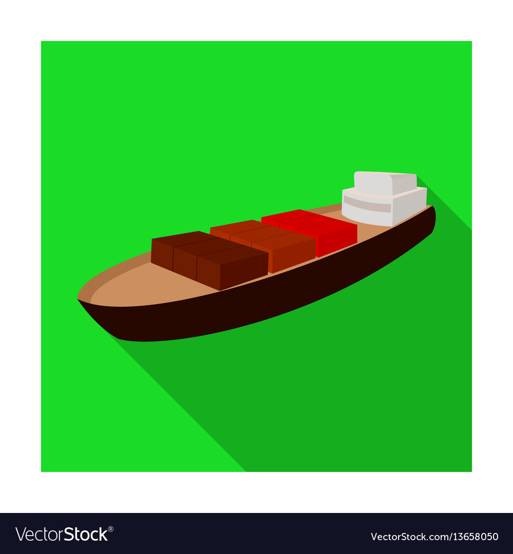 A ship for the transport of heavy goods over long