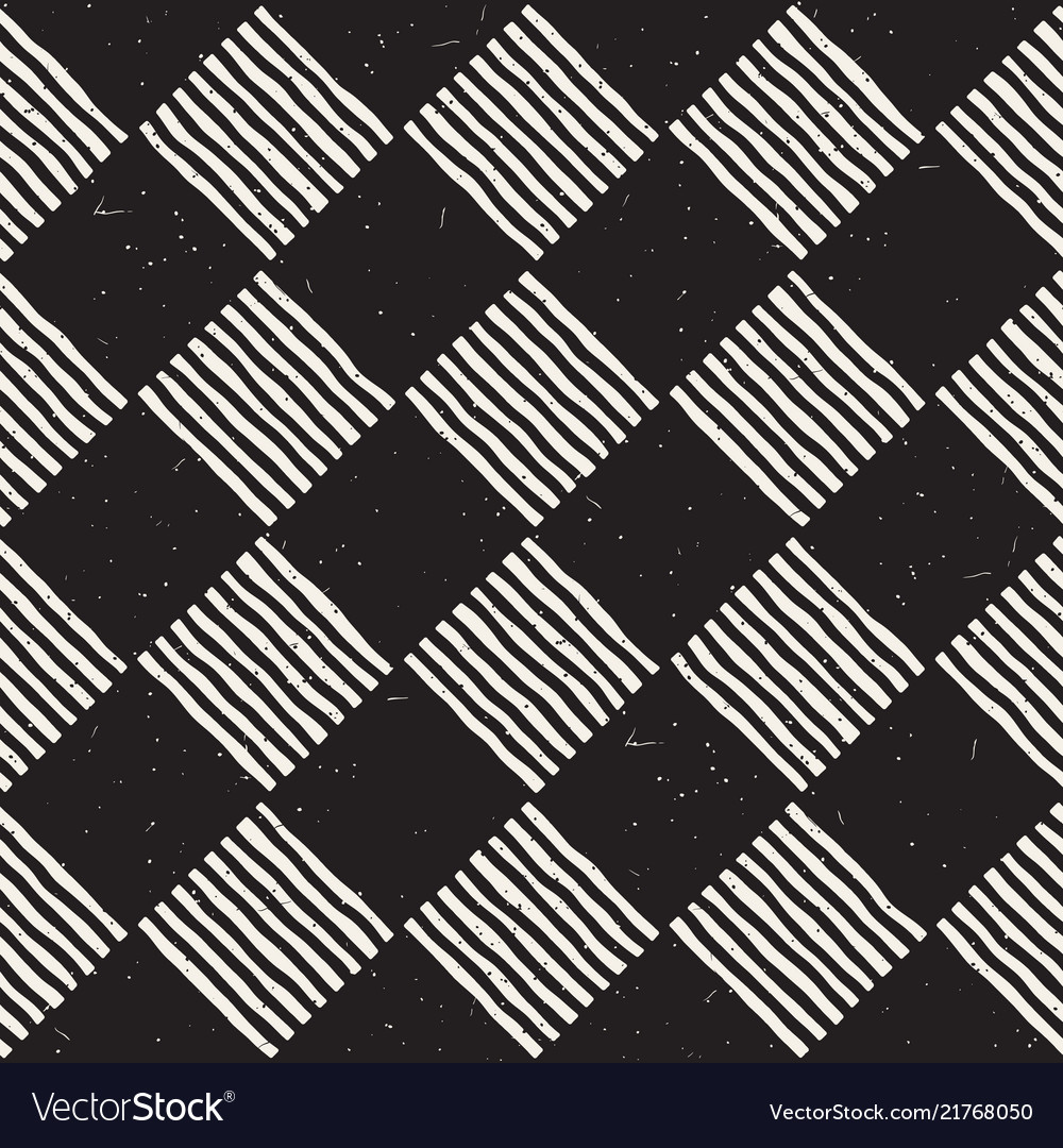 Hand drawn seamless repeating pattern with