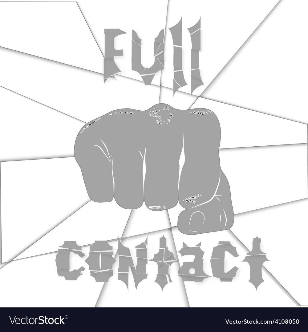 Martial arts full contact