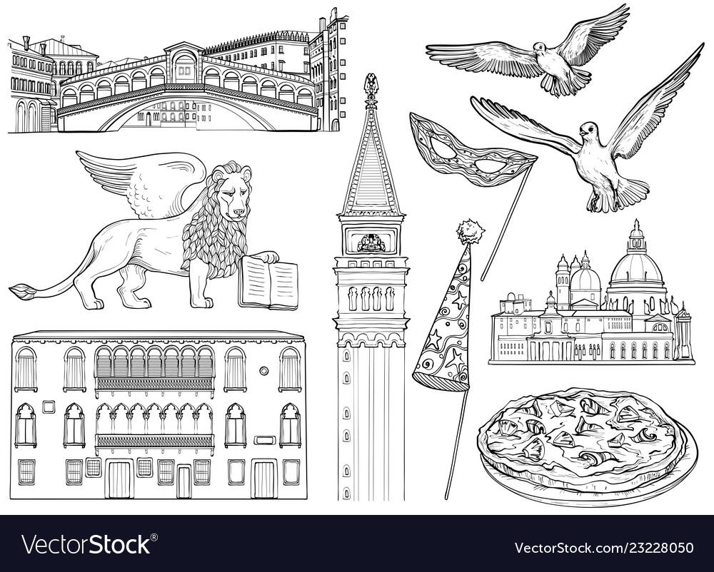 Set venice sketch