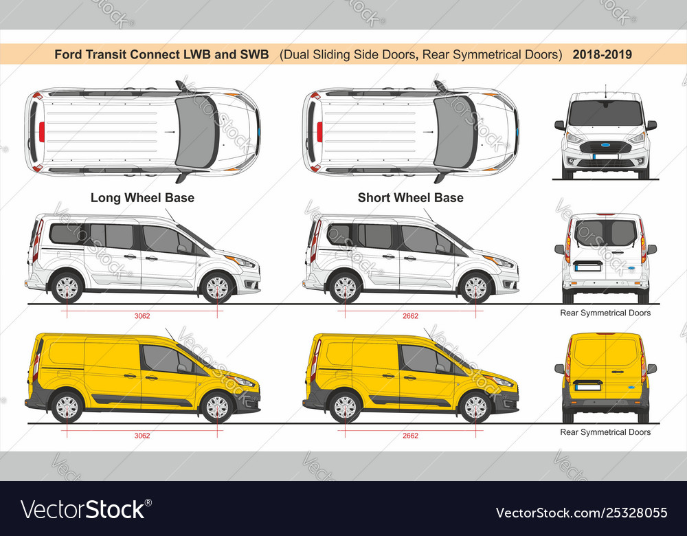 Ford Transit Connect Lwb And Swb 2018