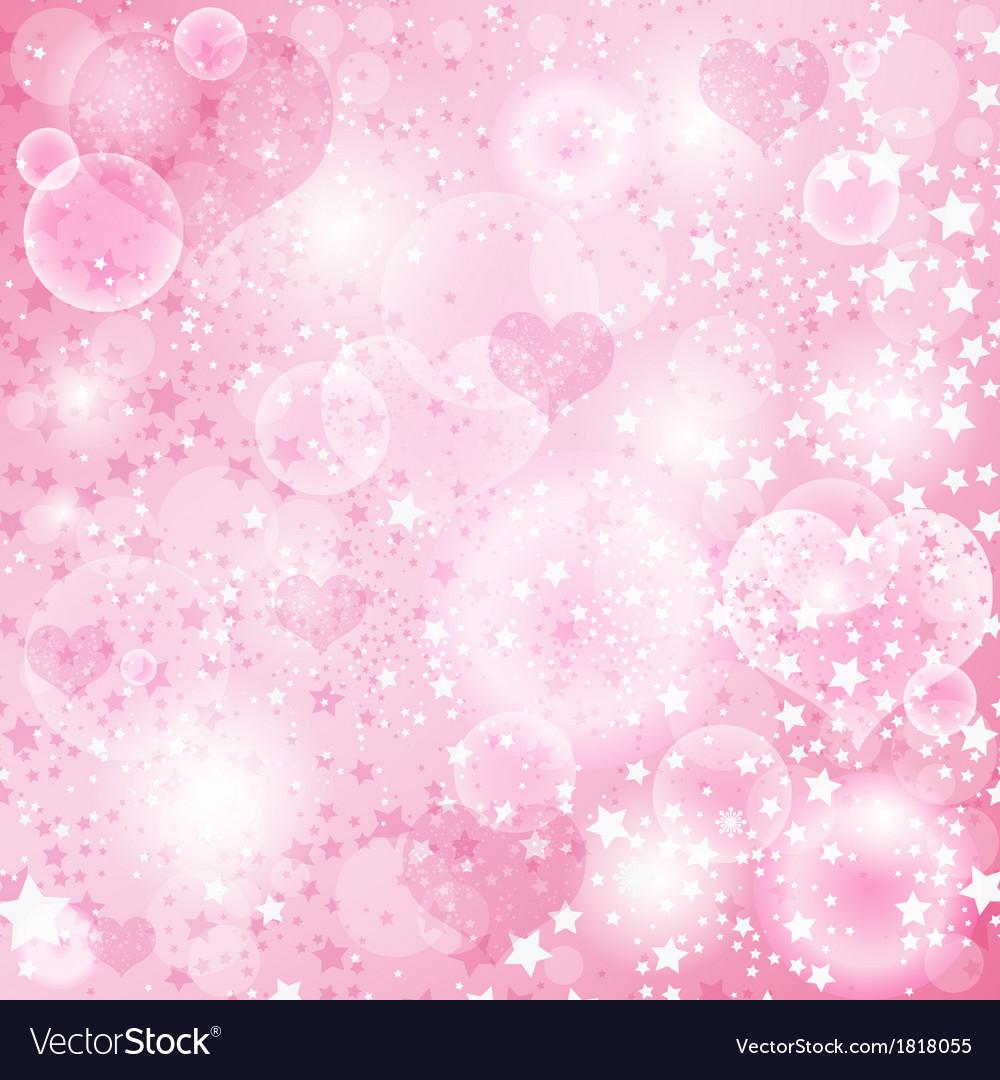 Gentle pink valentine background