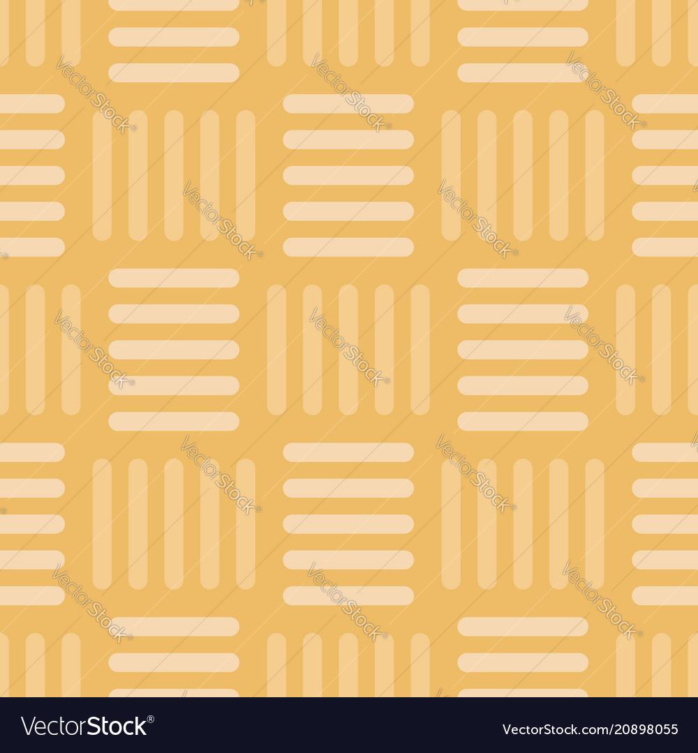 Vintage gold basketweave seamless pattern