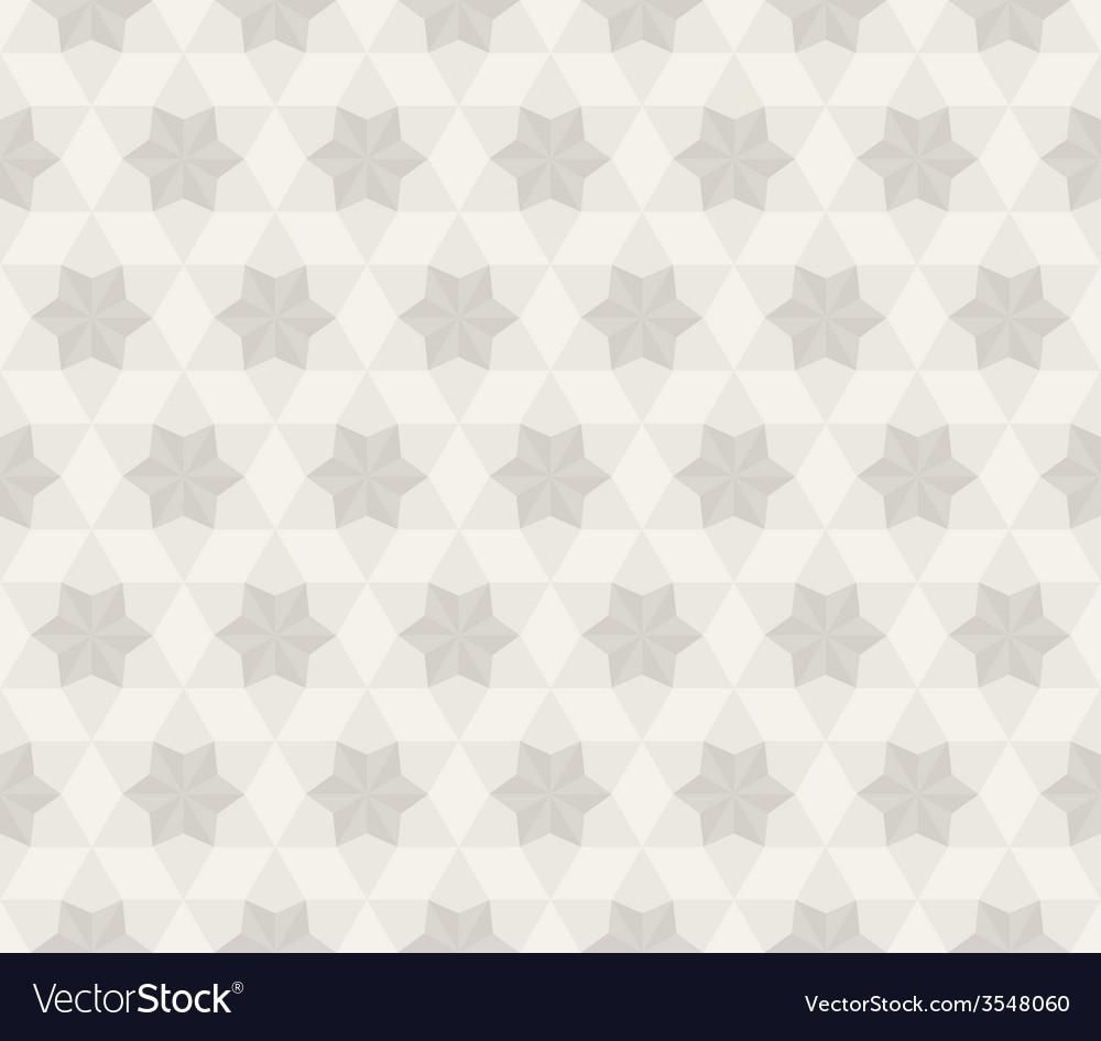Antique Star Pattern Seamless Background