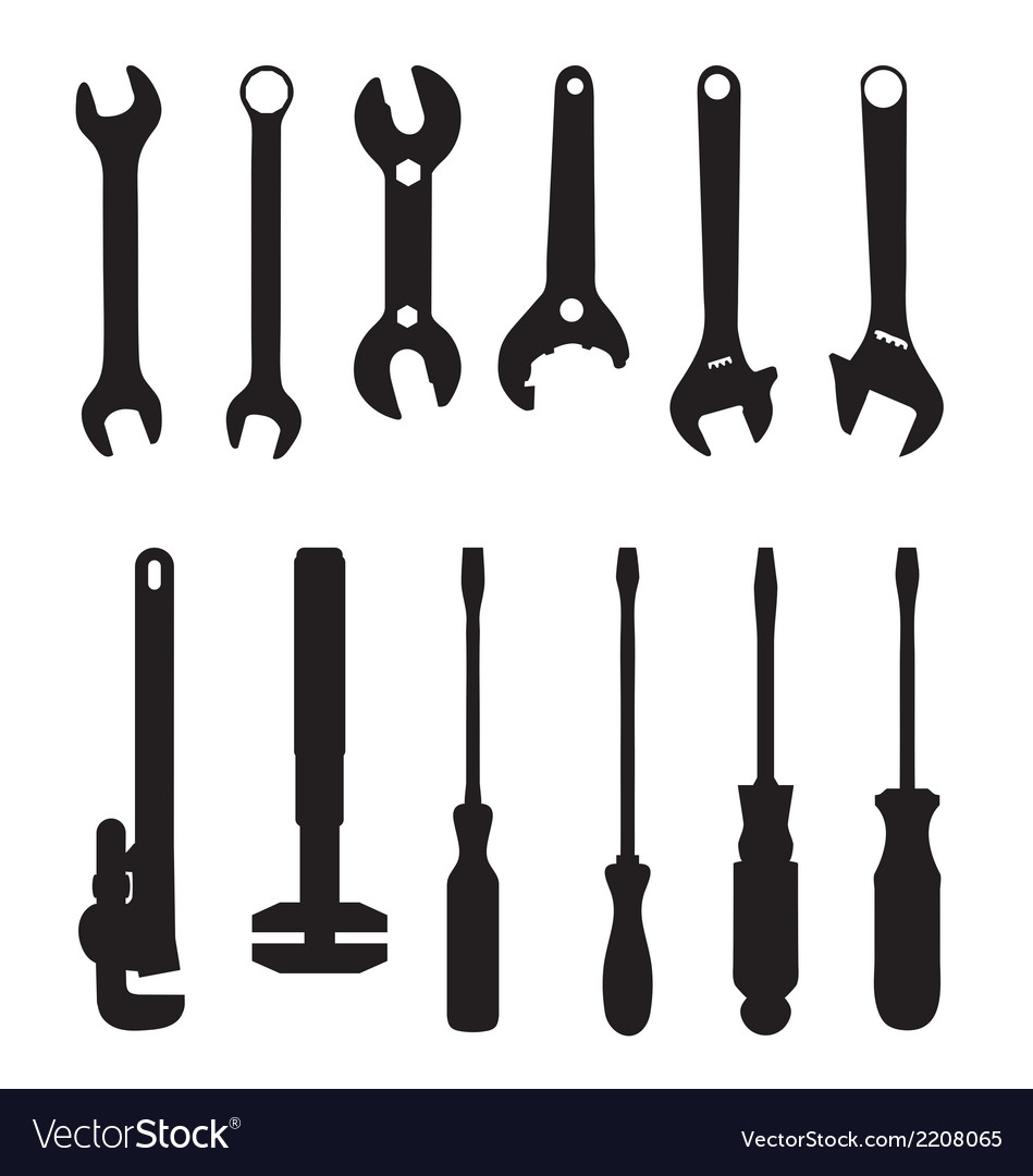 Screwdriver and screw wrench