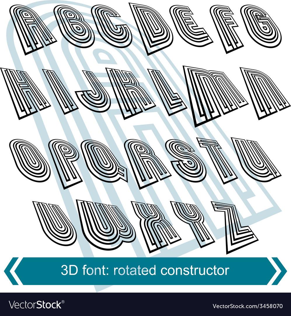 😝 3d letters font drawing | Free 3d fonts  2019-07-08