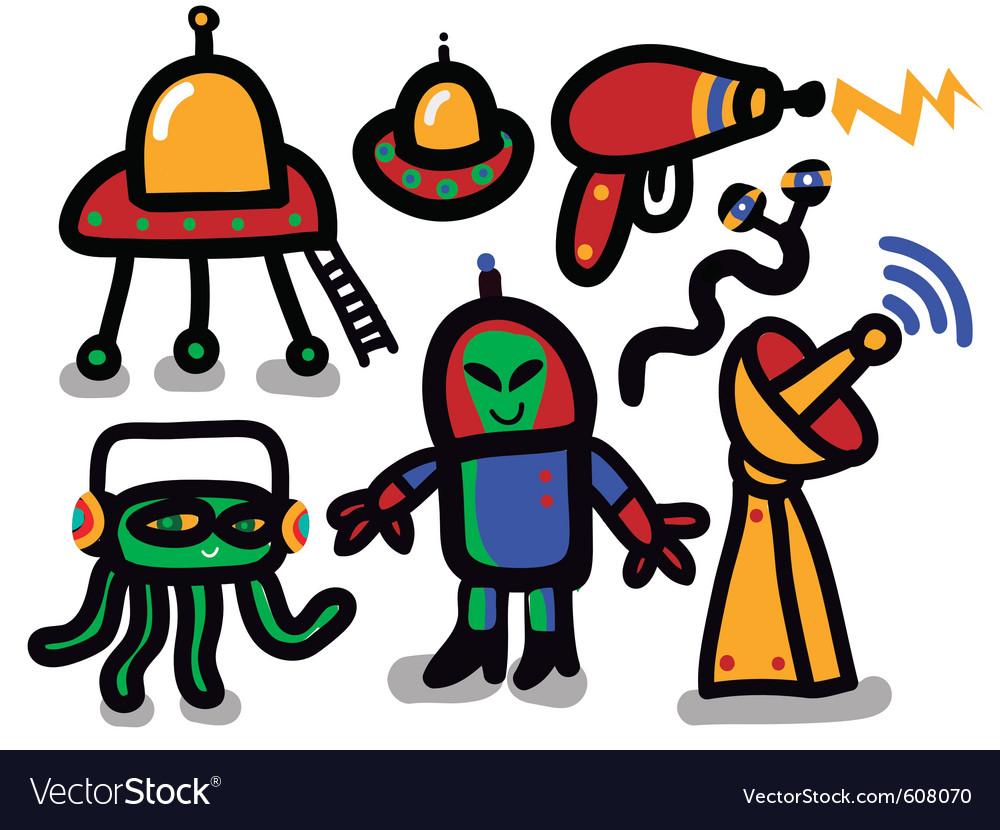 Alien icon set