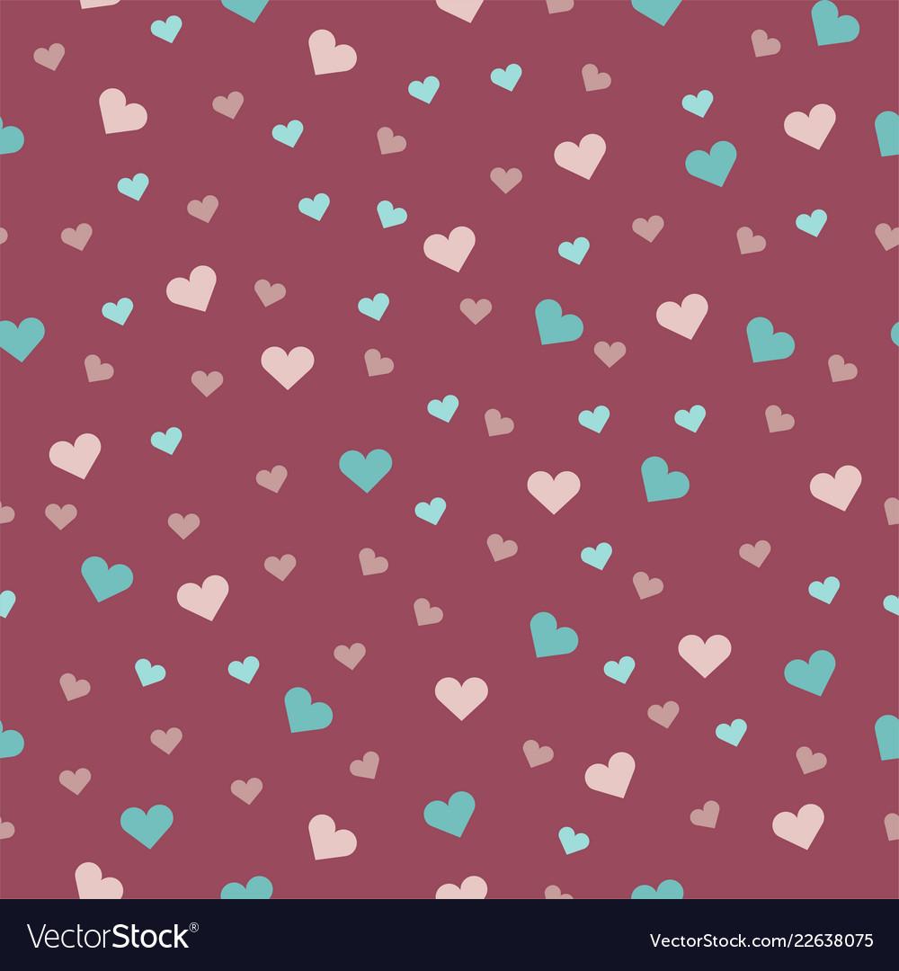 Beautiful seamless pattern with on a pink
