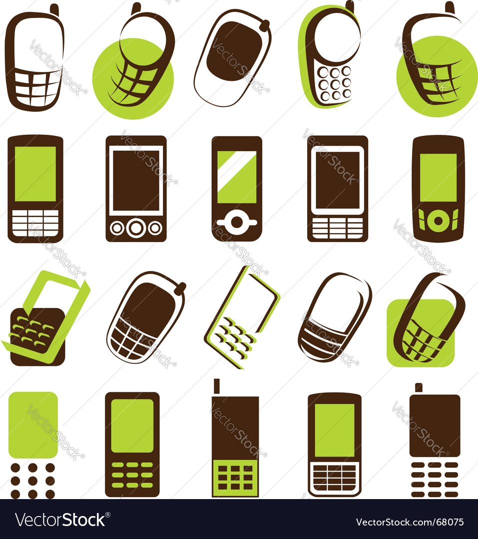 Mobile phones design elements