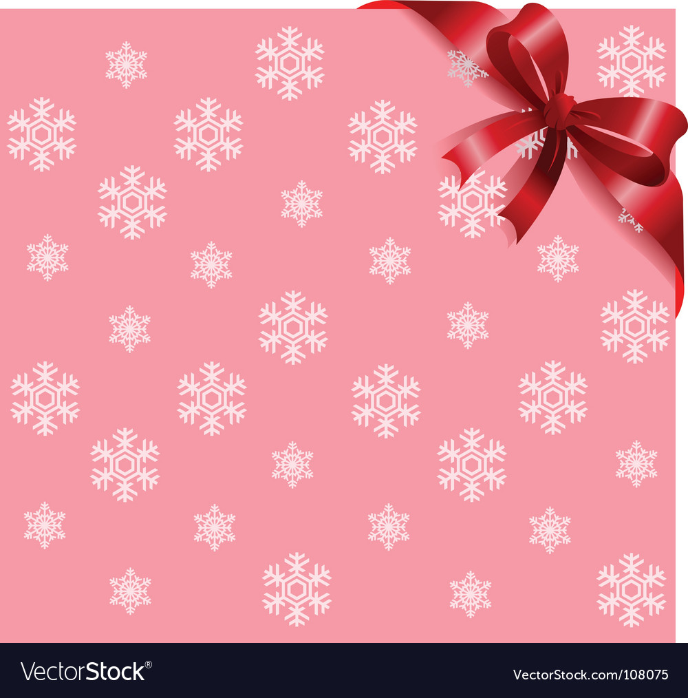 Description: Pink Snowflakes