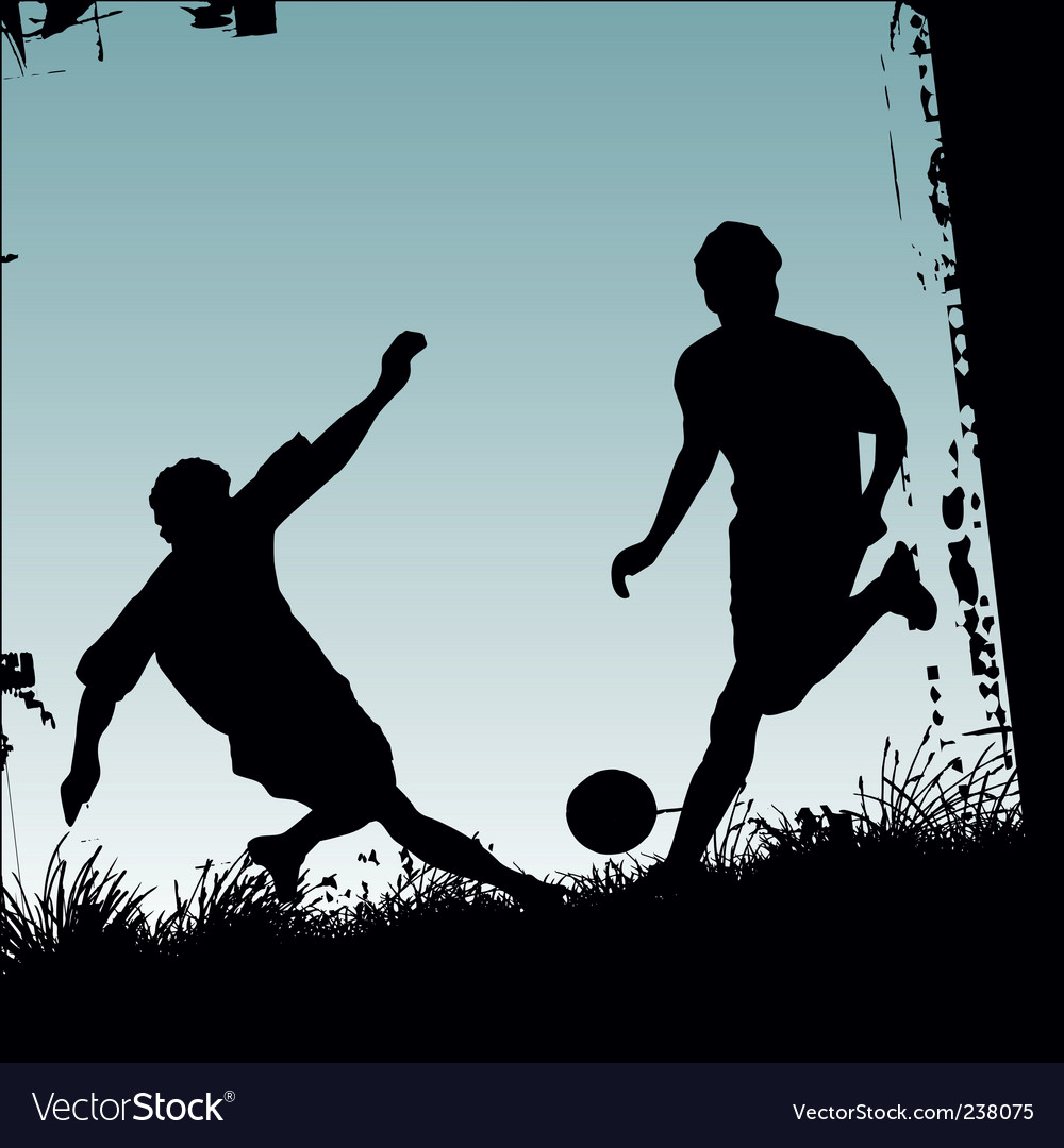 Soccer players