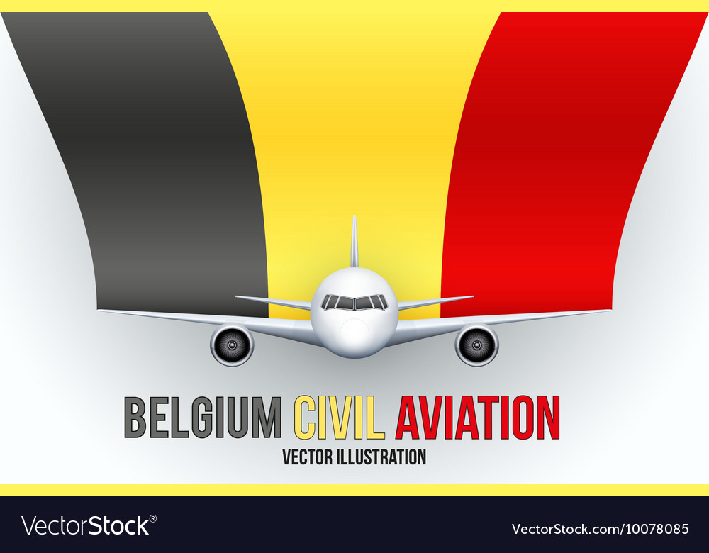 Civil Aircraft with flag