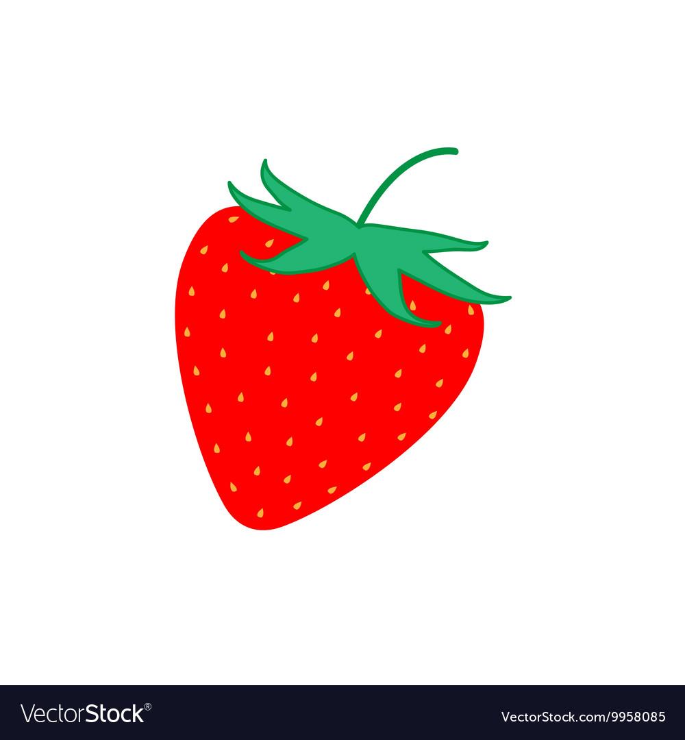 Sign flat strawberry 4107