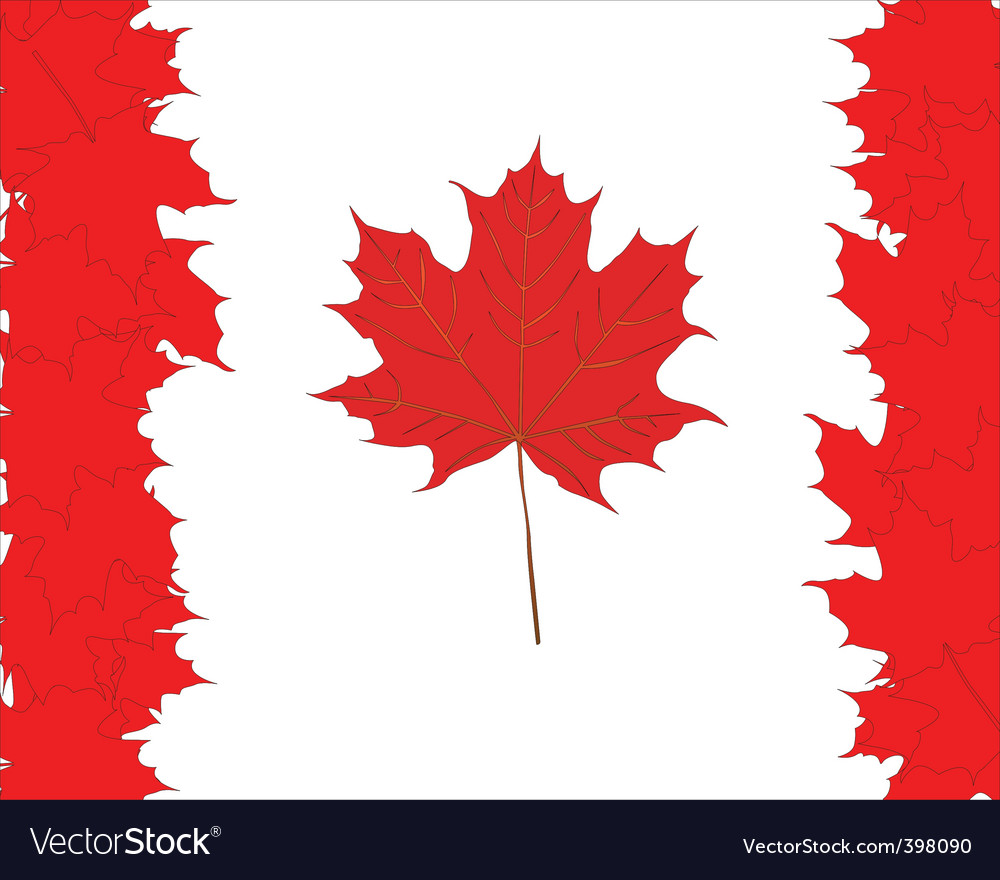 Canadian Maple Leaves Symbol Royalty Free Vector Image