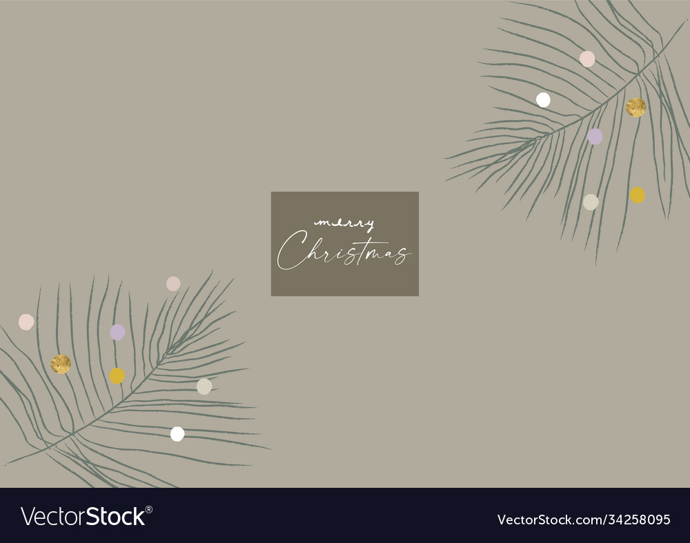 Abstract christmas greeting card background
