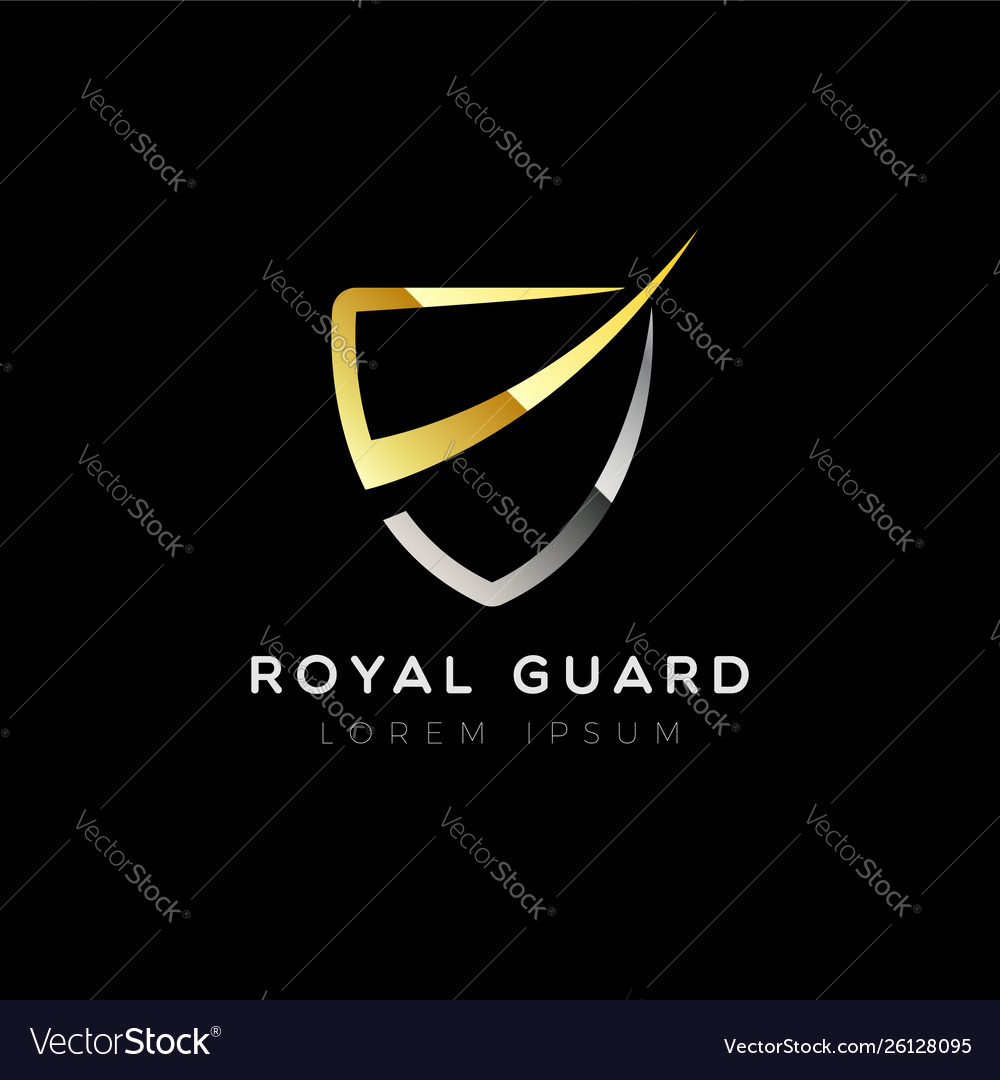 Shield logo template sign symbol icon