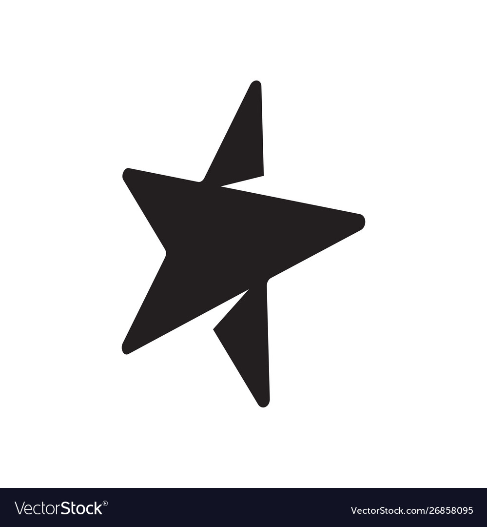 Star graphic design template isolated