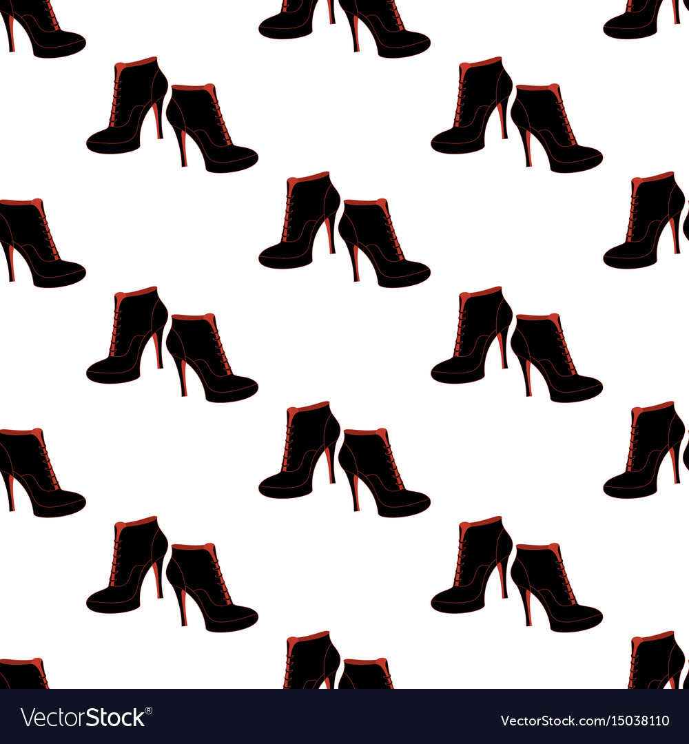 Ankle boots shoes pattern