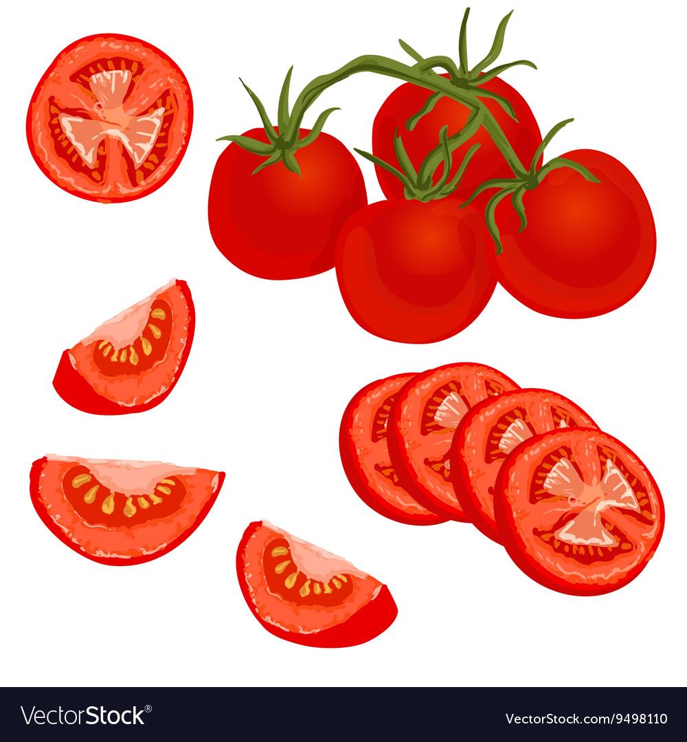 Colorful tomato