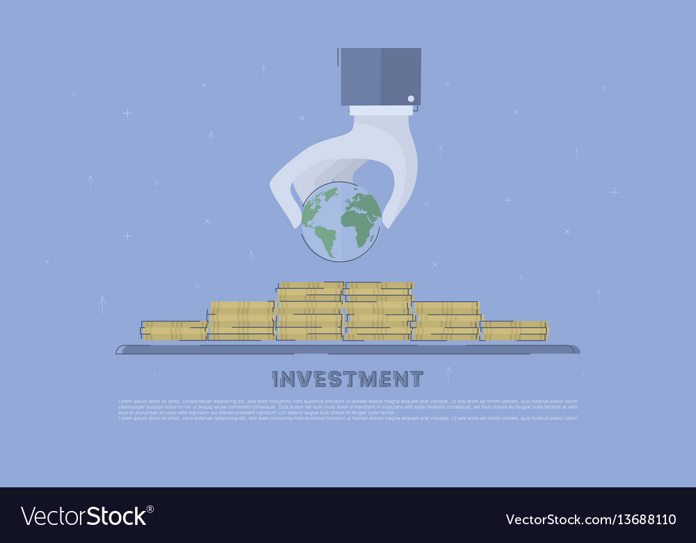 Global investment concept business