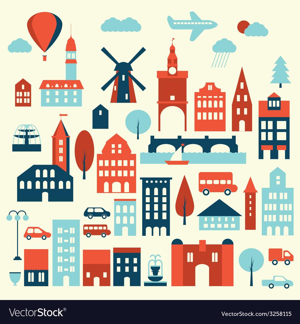 Europe city icon