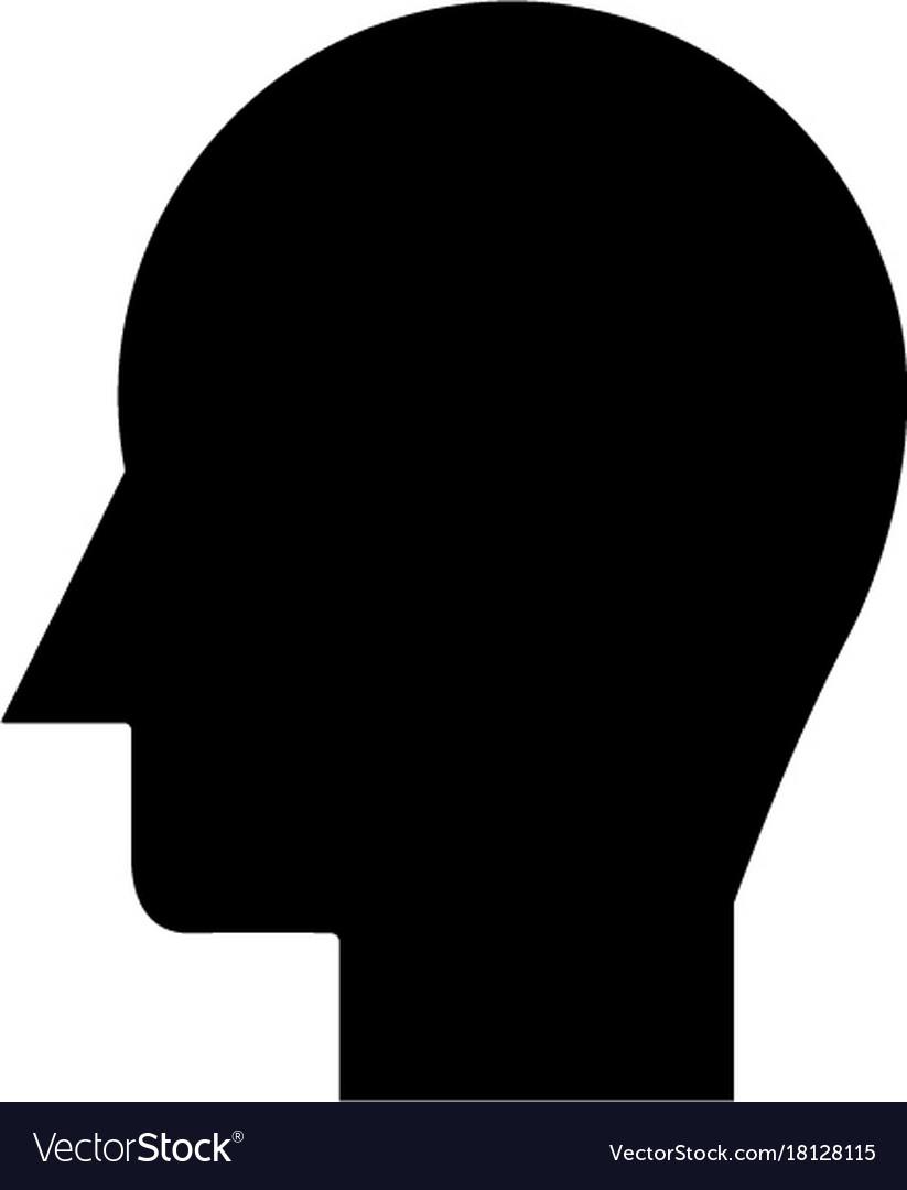 Man head icon sign o