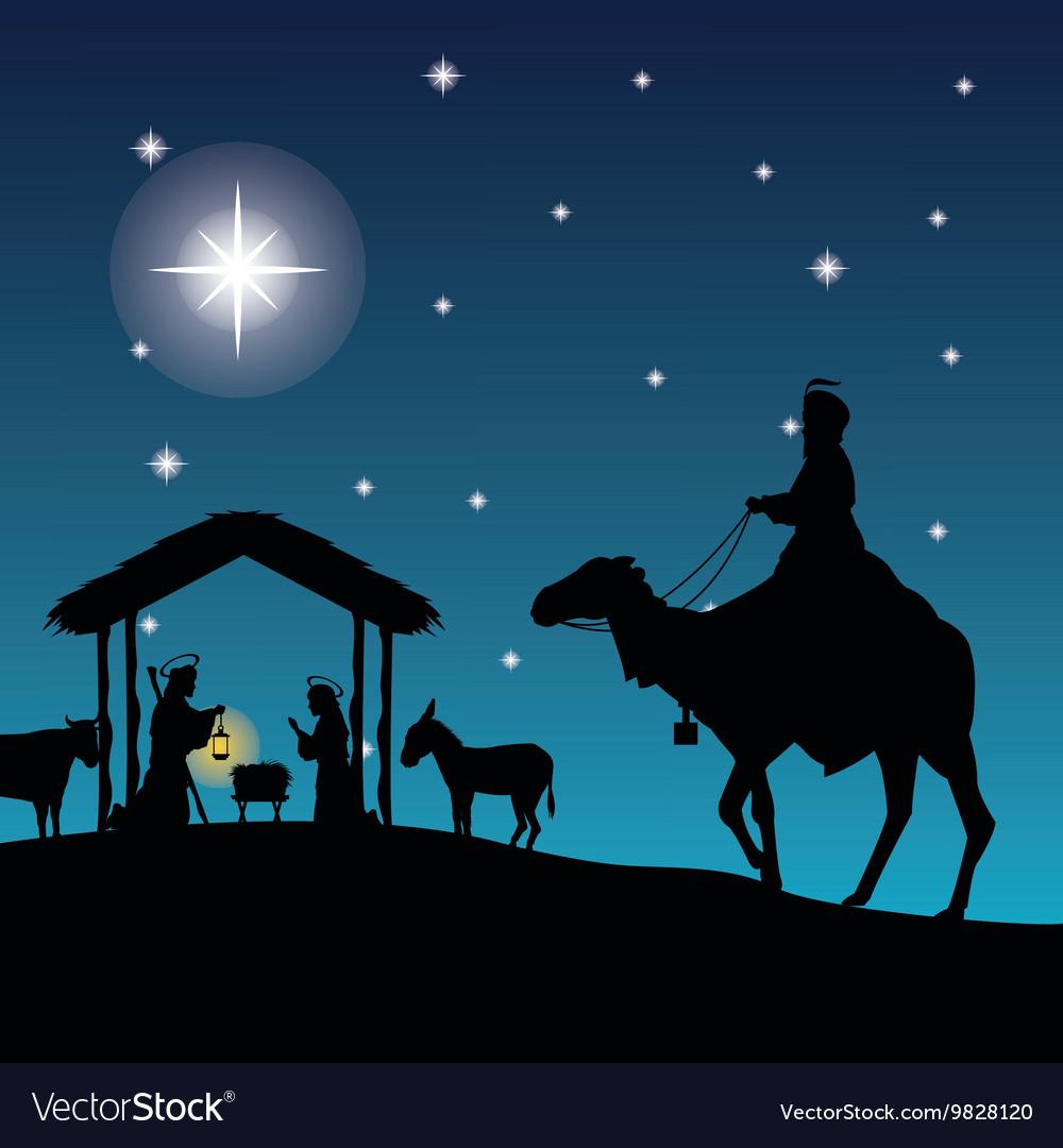 Christmas Jesus.Joseph Maria And Jesus Icon Merry Christmas