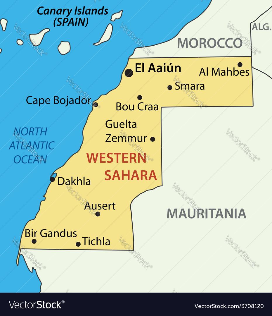 Western Sahara - map on arabian peninsula map, sudan map, namib map, congo basin map, great rift valley map, atlas mountains map, mecca map, gobi map, lake tanganyika map, zambezi river map, zagros mountains map, red sea map, kalahari map, madagascar map, desert map, sahel map, cape of good hope map, taurus mountains map, atacama map, africa map,